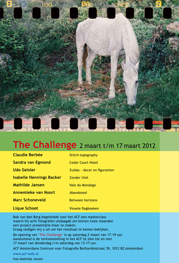 The Challenge Flyer