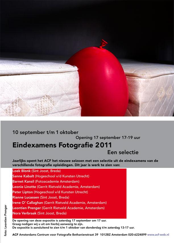 Eindexamens fotografie 2011
