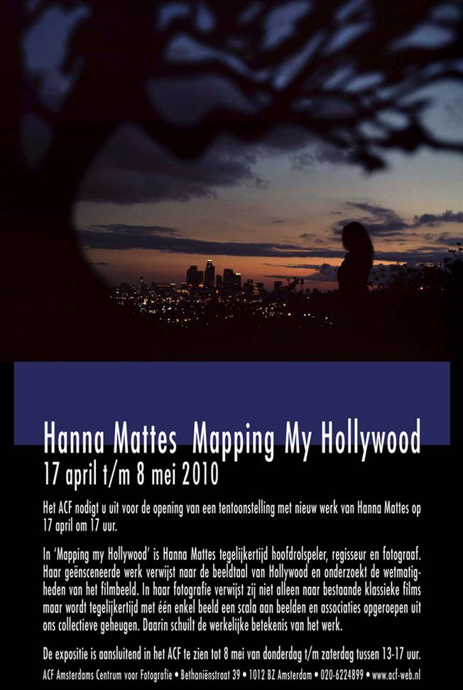 Hanna Mattes Mapping my hollywood