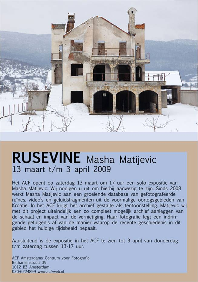 Rusevine Masha Matijevic
